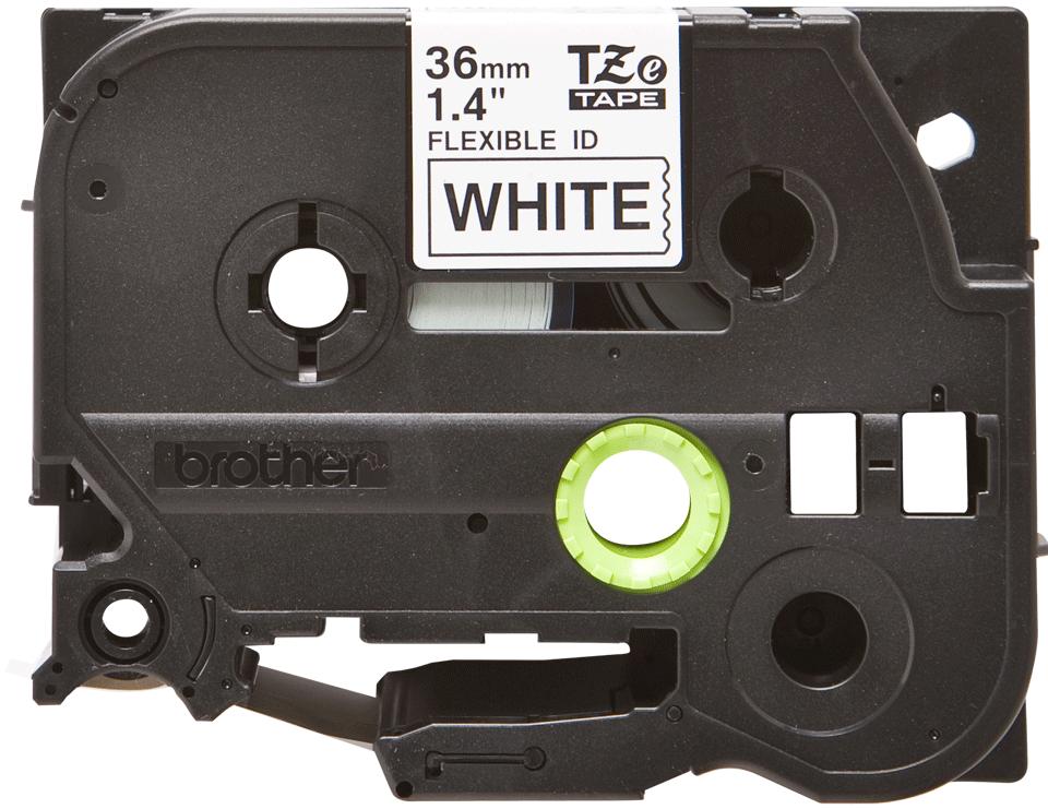 Brother TZe-FX261 Flexi-Tape – schwarz auf weiß