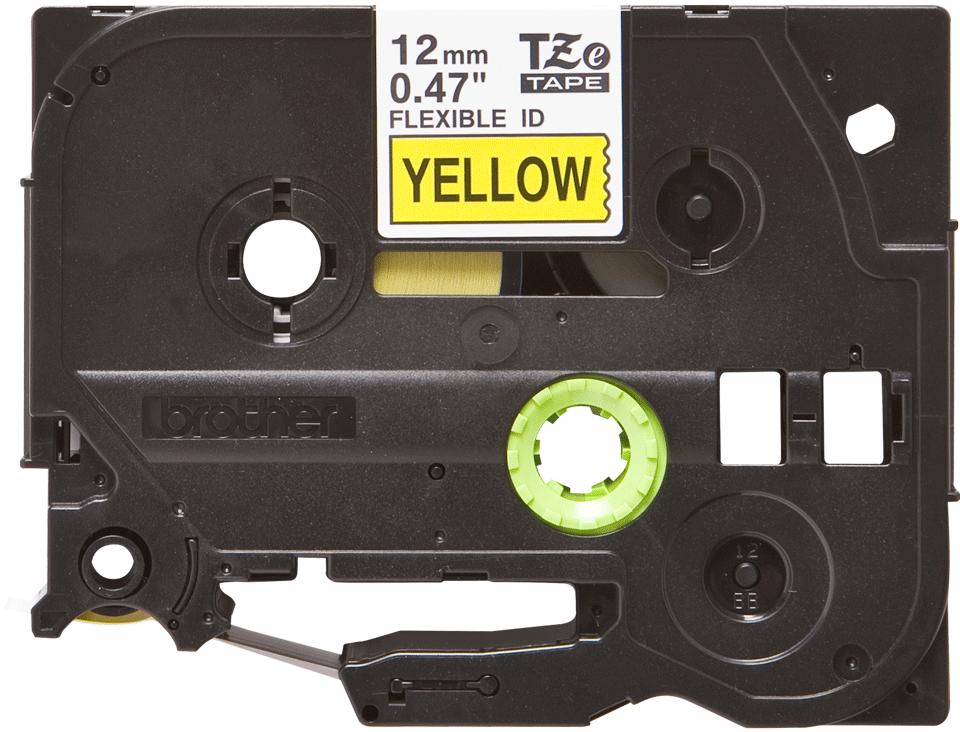 Brother TZe-FX631 Flexi-Tape – schwarz auf gelb 3