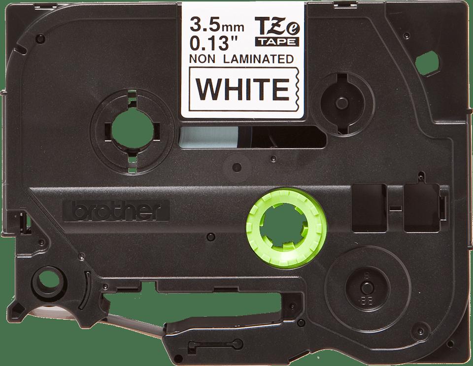 Brother TZe-N201 Schriftband – schwarz auf weiß 5