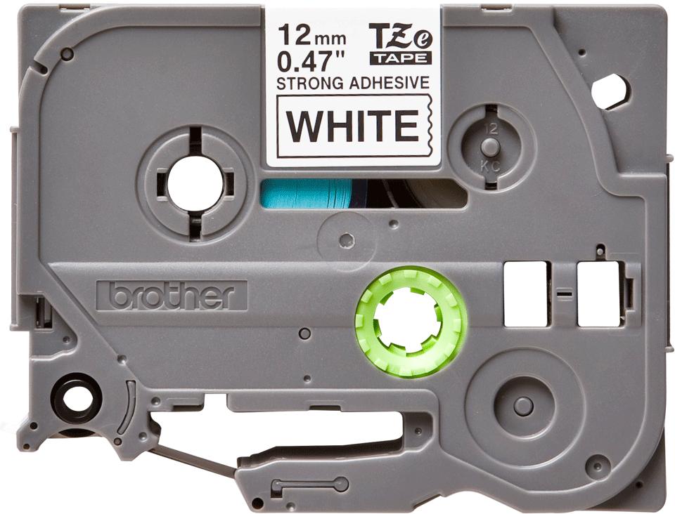 Brother TZe-S231 Schriftband – schwarz auf weiß 3