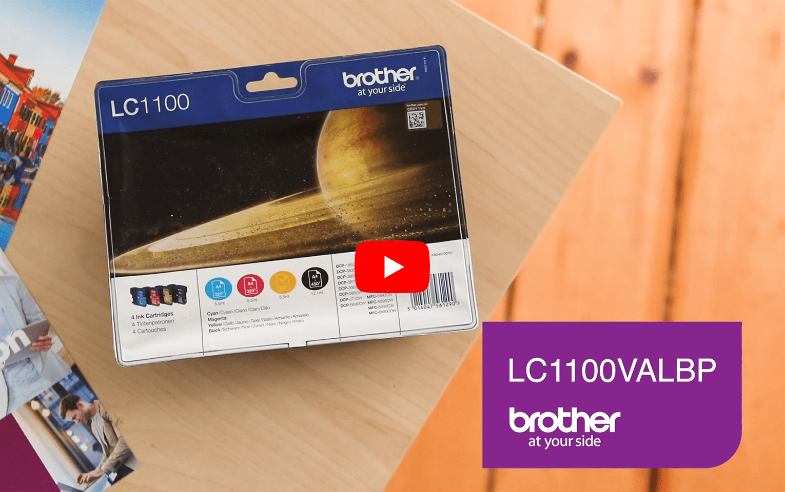 Original Brother LC-1100 Value Pack 5