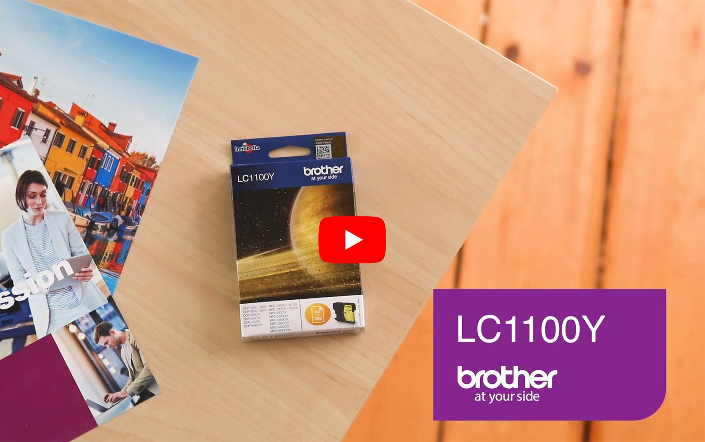 Brother LC-1100Y Tintenpatrone – Gelb 5