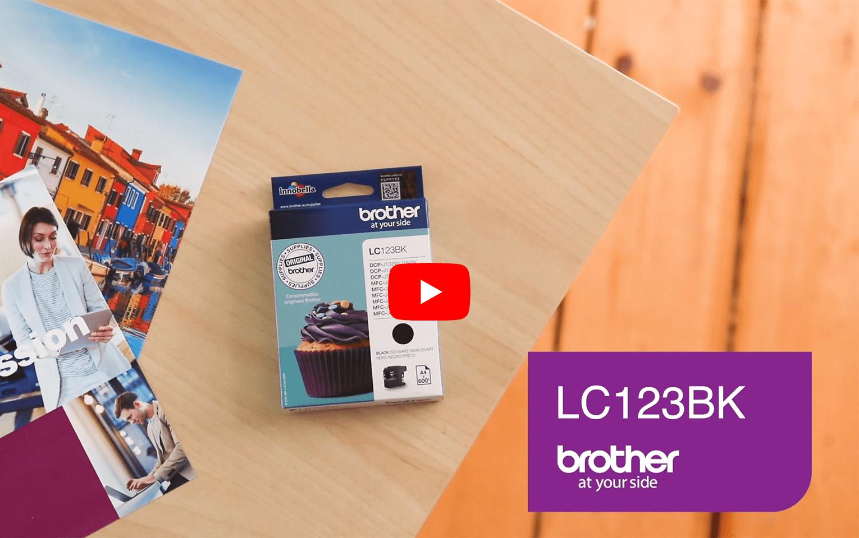 Brother LC-123BK Tintenpatrone – Schwarz 5