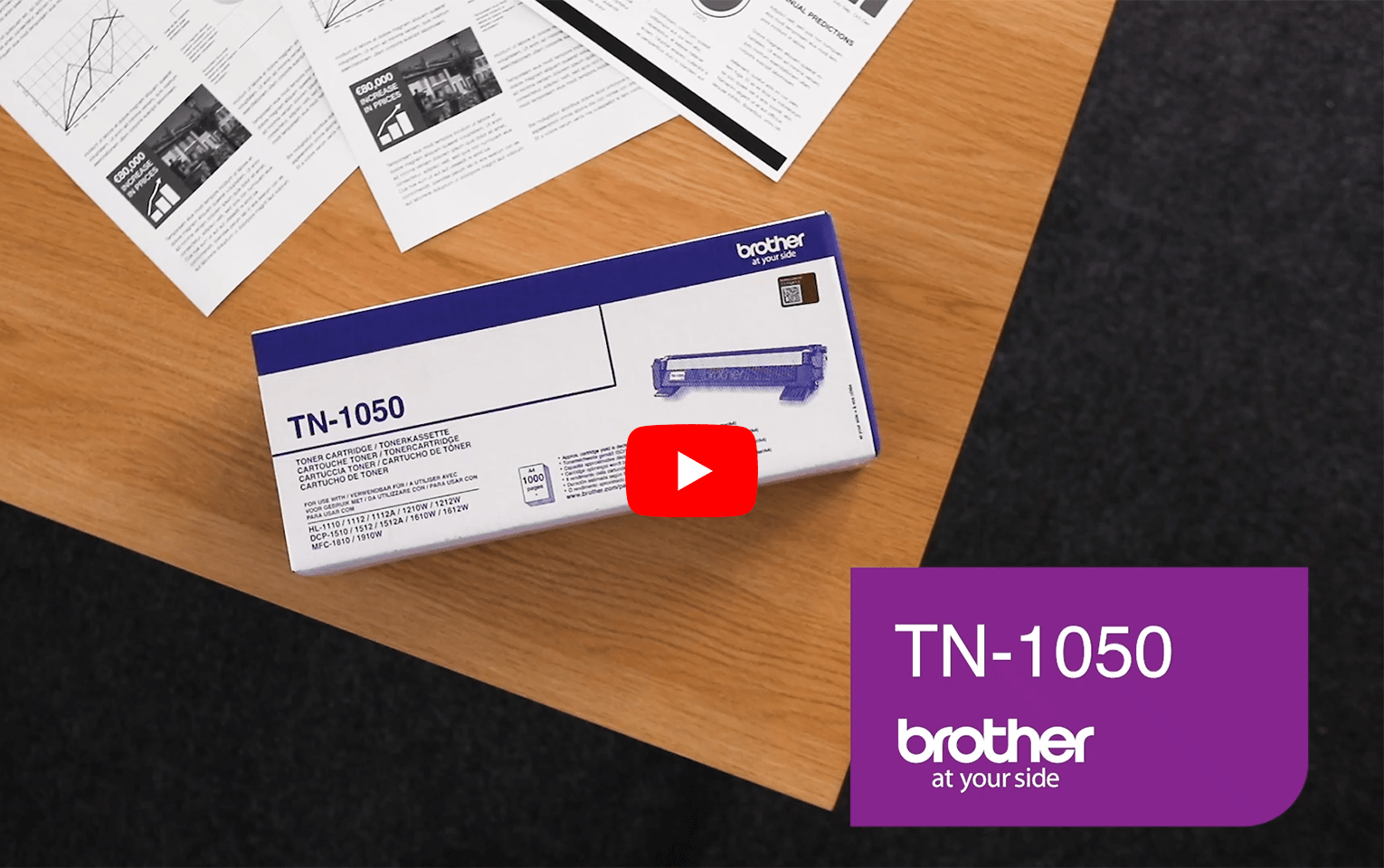 Brother TN-1050 Tonerkartusche – Schwarz 5