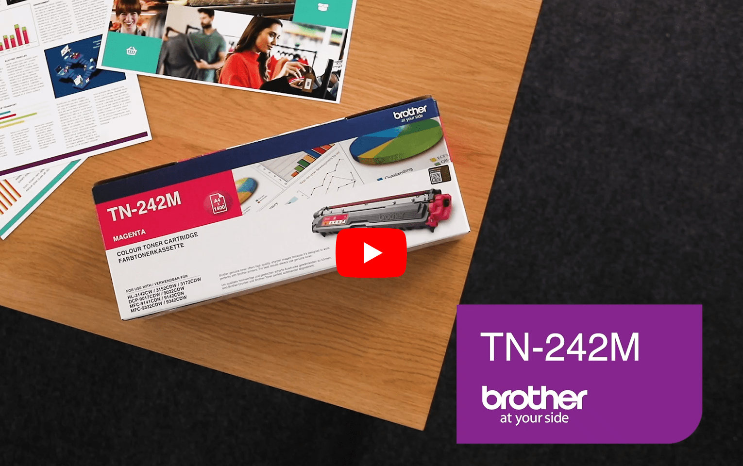 Brother TN-242M Tonerkartusche – Magenta 6