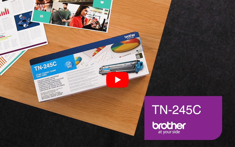 Brother TN-245C Tonerkartusche – Cyan 3