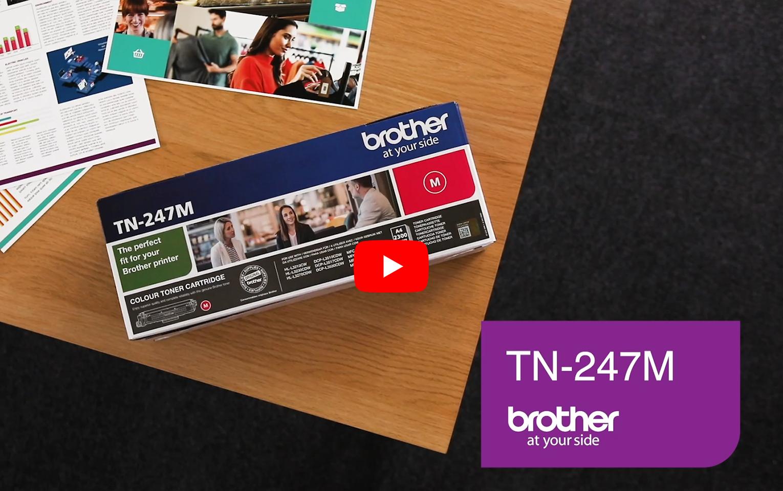 Brother TN-247M Tonerkartusche – Magenta 6